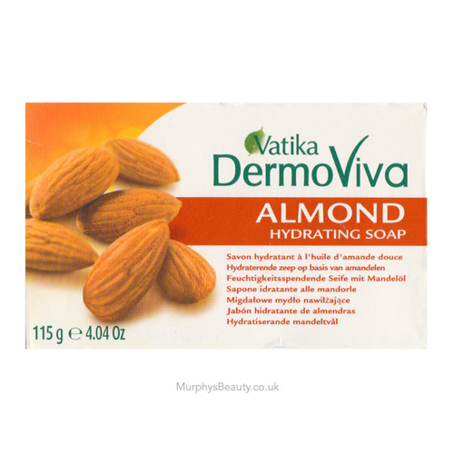 Vatika   Dermoviva   Almond Hydrating Soap