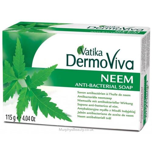 Vatika | Dermoviva | Neem Anti-Bacterial Soap