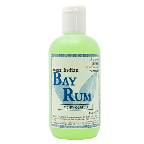 West Indian | Bay Rum Mentholated
