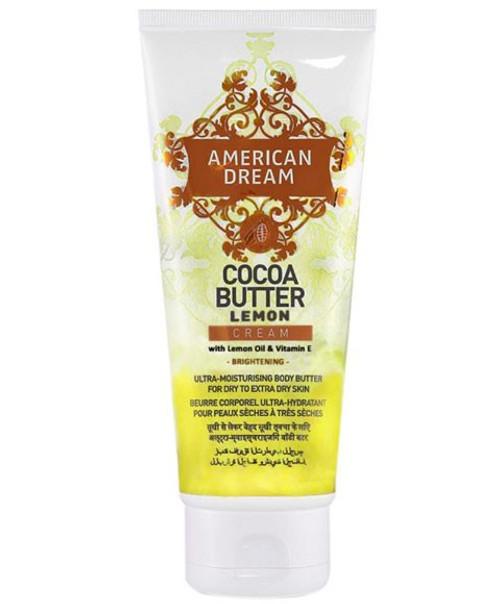American Dream   Cocoa Butter Lemon Cream (150ml)