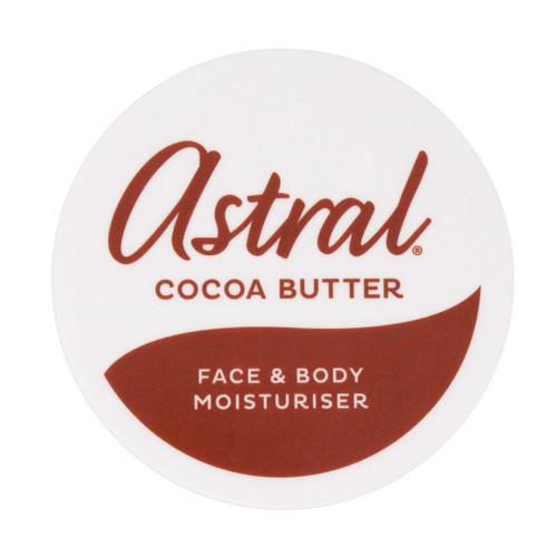 Astral Original   Face & Body Moisturiser   Cocoa Butter (200ml)