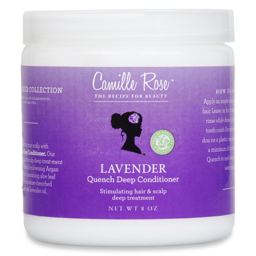 Camille Rose   Lavender   Quench Deep Conditioner (8oz)