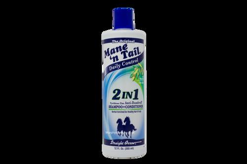 Mane n' Tail | 2 in 1 Shampoo+Conditioner (12oz)