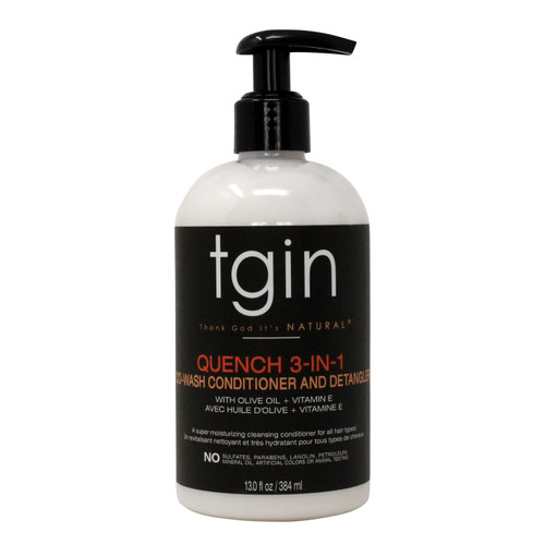 Tgin | Quench 3in-1 Co-Wash Conditioner and Detangler (13oz)