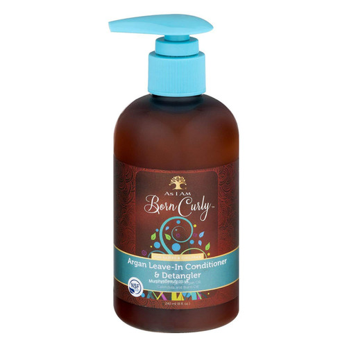 As I Am | Born Curly | Argan Leave-In Conditioner (8oz)