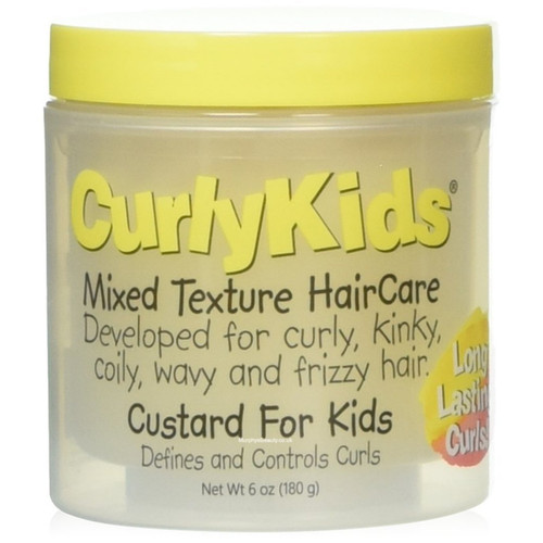 CurlyKids| Mixed Texture Hair Care | Custard For Kids (6oz)