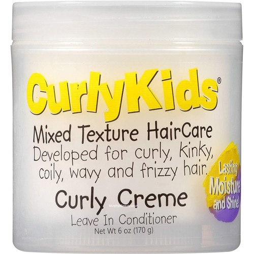 CurlyKids| Mixed Texture Hair Care | Curly Creme (6oz)