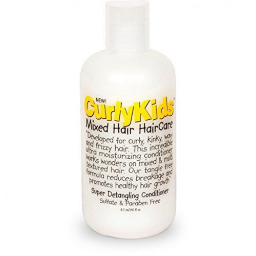 CurlyKids| Mixed Texture Hair Care | Super Detangle Conditioner (8oz)