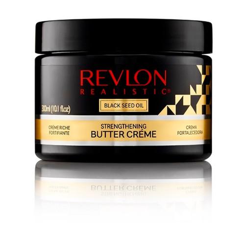 Revlon Realistic   Black Seed Oil   Strengthening Butter Creme (300ml)