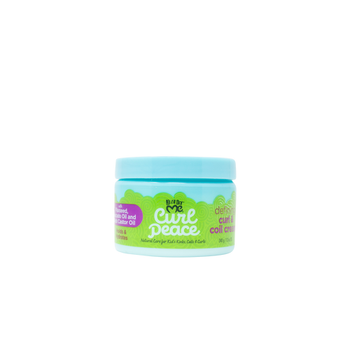 Just For Me | Curl Peace | Defining Curl & Coil Cream (12oz)
