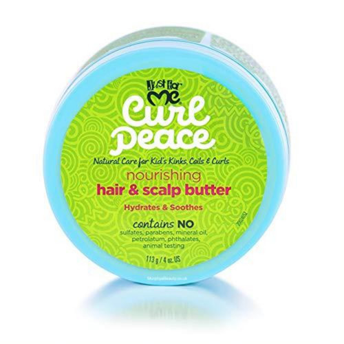 Just For Me | Curl Peace | Nourishing Hair & Scalp Butter (4oz)
