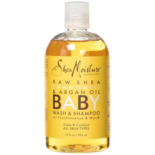 Shea Moisture | Raw Shea Chamomile & Argan Oil Baby | Wash & Shampoo (577ml)