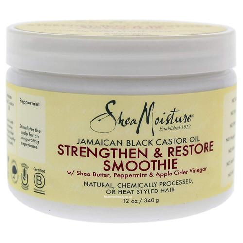 Shea Moisture | Jamaican Black Castor Oil | Strengthen & Restore Smoothie (12oz)