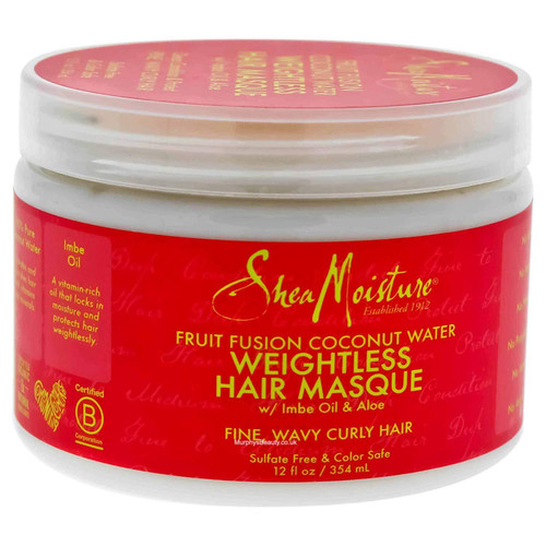 Shea Moisture | Fruit Fusion | Coconut Water Weightless Hair Masque (12oz)