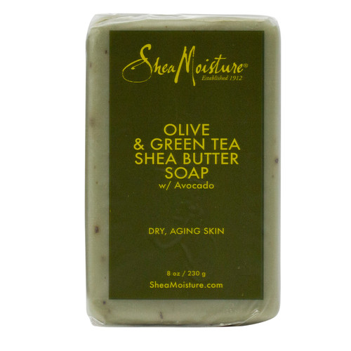 Shea Moisture | Olive & Green Tea | Shea Butter Soap (8oz)