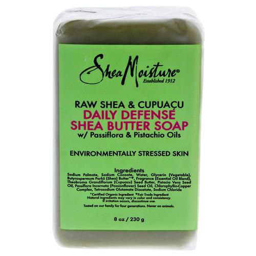 Shea Moisture | Raw Shea & Cupuacu | Daily Defense Shea Butter Soap (8oz)