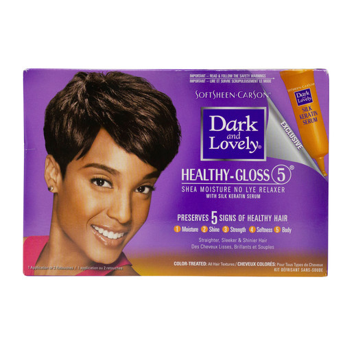 Dark and Lovely   Healthy-Gloss 5   Relaxer (Color-Treated) (1 Application)