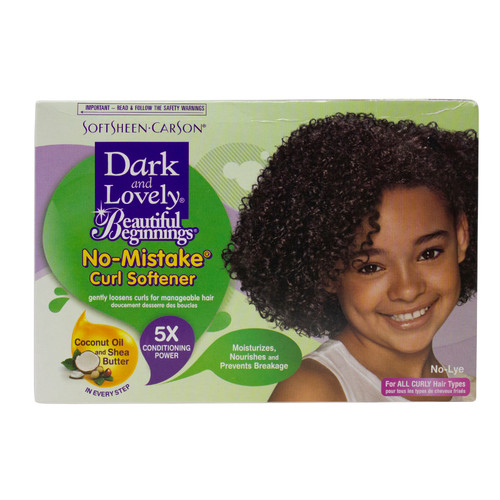 Dark and Lovely   Beautiful Beginnings   No-Mistake Curl Softener (1 Application) (1 Application)