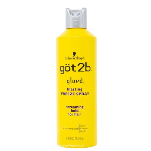 Schwarzkopf | Got2b | Glued Blasting Freeze Spray (12oz)