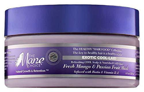 The Mane Choice | Exotic Cool-Laid | Fresh Mango & Passion Fruit Mask (8oz)
