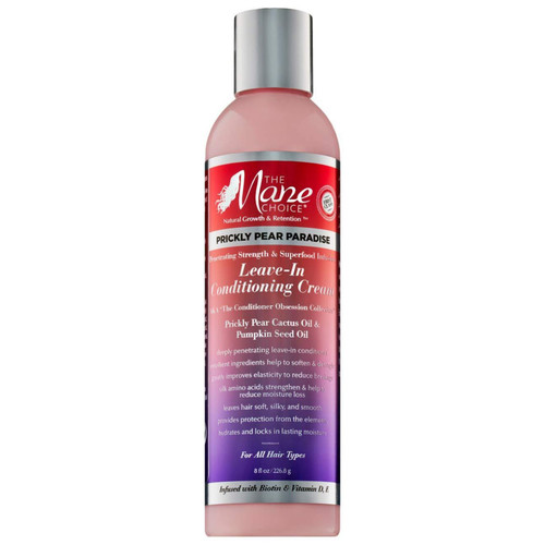 The Mane Choice | Prickly Pear Paradise | Leave-In Conditioning Cream (8oz)