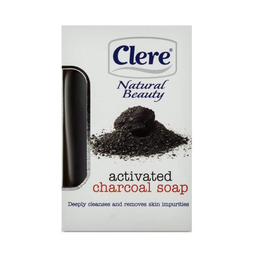 Clere | Natural Beauty | Activated Charcoal Soap (150g)