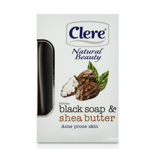 Clere | Natural Beauty | African Black Soap & Shea Butter (150g)