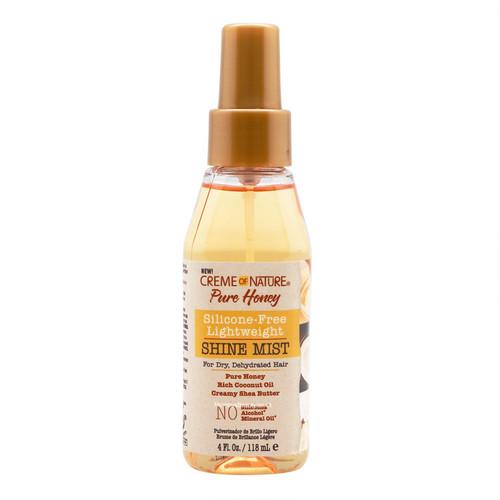 Creme of Nature | Pure Honey | Silicone-Free Lightweight Shine Mist (4oz)
