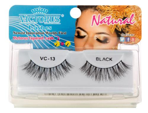 Victorus | Natural Eyelashes (Black) (VC-13)