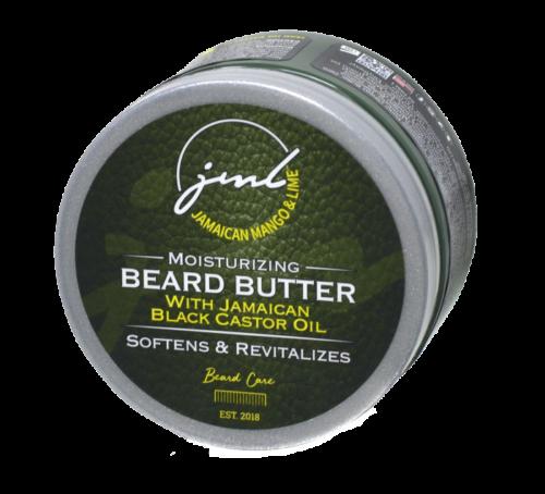Jamaican Mango and Lime   Beard Butter   with Jamaican Black Castor oil (4oz)
