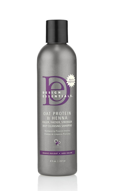 Design Essentials | OAT Protein & Henna Deep Cleaning Shampoo