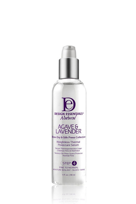 Design Essentials | Agave & Lavender Weightless Thermal Protectant Serum