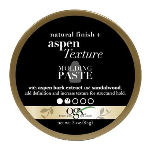 OGX   Aspen Texture   Molding Paste Natural Finish (3oz)
