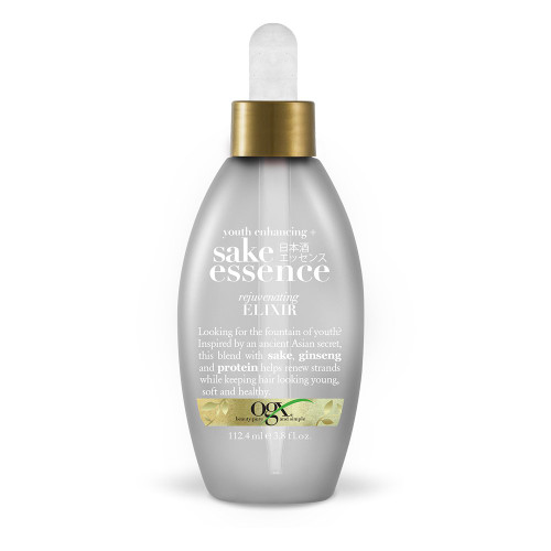 OGX   Sake Essence   Youth Enhancing Rejuvenating Elixir (3.8oz)