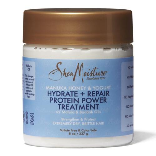 Shea Moisture | Manuka Honey and Yoghurt | Hydrate + Repair Protein Power Treatment (8oz)