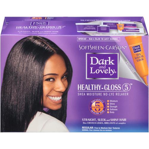Softsheen Carson | Healthy-Gloss | Shea Moisture No Lye Relaxer (1 Application)