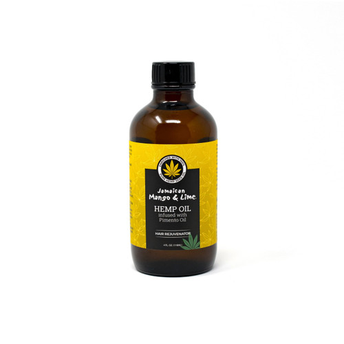 Jamaican Mango and Lime | Hemp Oil Infused With Pimento Oil (4oz)
