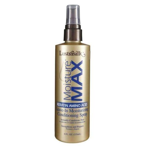 Lustrasilk | Moisture Max | Leave-In Moisturizing Conditioning Spray (8oz)