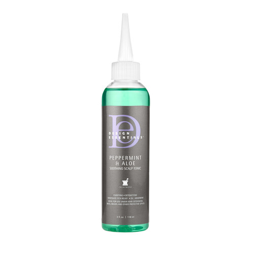 Design Essential | Peppermint and Aloe | Soothing Scalp Tonic (4oz)