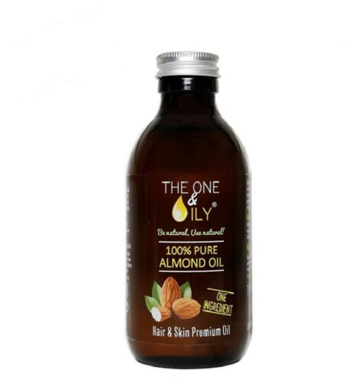 The One and Oily   100% Pure Almond Oil (200ml)