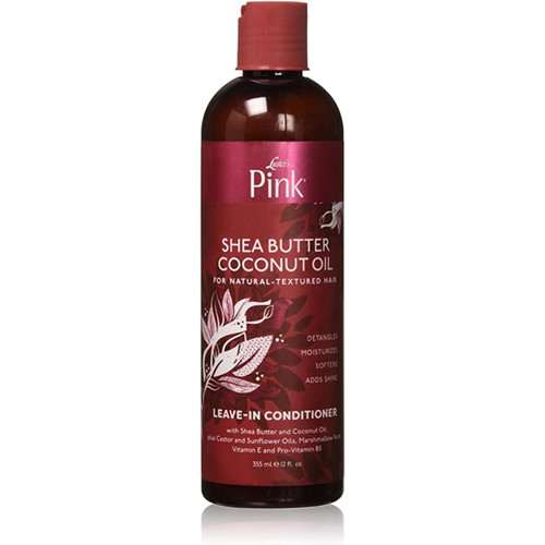 Luster's | Pink! | Shea Butter and Coconut Oil | Leave In Conditioner (12oz)