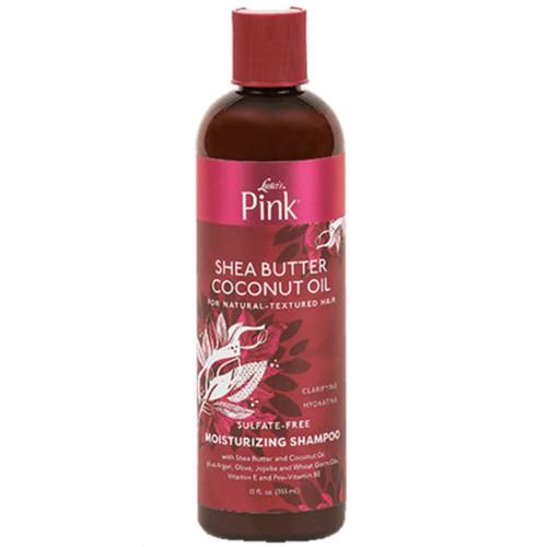 Luster's | Pink! | Shea Butter Coconut Oil | Moisturizing Shampoo (12oz)
