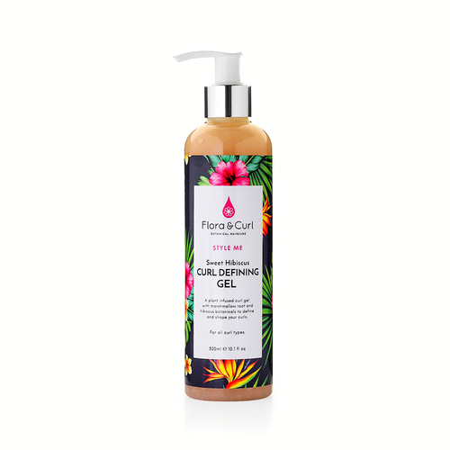 Flora And Curl | Sweet Hisbiscus | Curl Defining Gel (300ml)