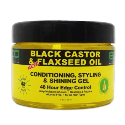 Eco   Black Castor Oil & Flaxeed Oil (11oz)