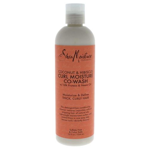 Shea Moisture   Coconut & Hibiscus Curl Moisture Co-Wash (12oz)