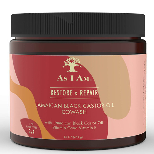 As I AM | Restore & Repair | Jamaican Black Castor Oil Cowash