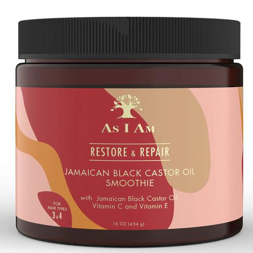 As I AM | Restore & Repair | Jamaican Black Castor Oil Smoothie