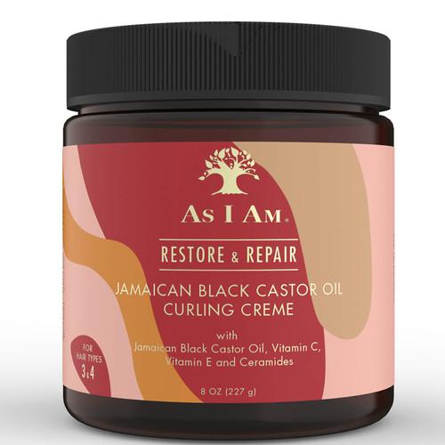 As I AM | Restore & Repair | Jamaican Black Castor Curling Creme