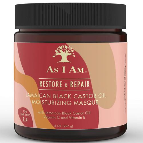 As I AM | Restore & Repair | Jamaican Black Castor Moisturizing Masque