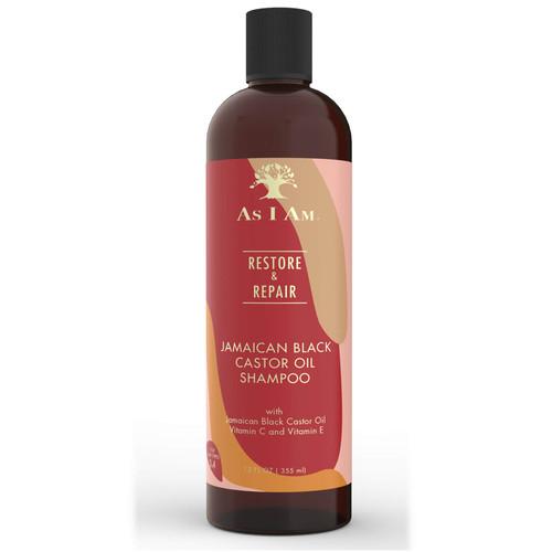 As I AM | Restore & Repair | Jamaican Black Castor Shampoo